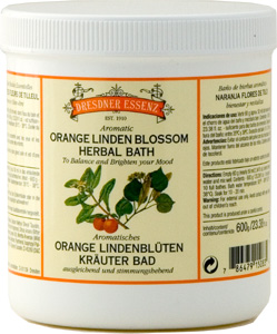Orange & Linden Blossom 600g